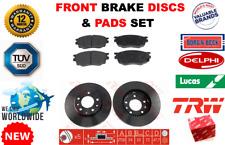 Für Mazda 6 1.8 2.0 2.5 Premacy 1.9 2.0 Td 2000-07 Bremsscheiben Vorne + Beläge