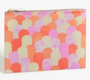 John Lewis Popsicle Toiletry/ make up Pouch Bikini Bag travel Clutch Pink 18X25c