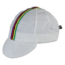 TRADITIONAL WHITE WORLD BICYCLE CYCLING CAP BEANIE HAT