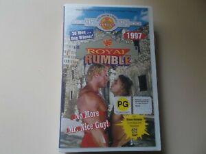 WF ROYAL RUMBLE 1997 WRESTLING VHS VIDEO