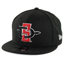 promo code 9afbf 28a10 Era 9fifty SDSU San Diego State Aztecs Snapback Hat Black Men s Cap