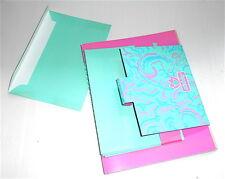 DEBBY 80s Mondadori italy stationery letter set book - carta da lettere libretto