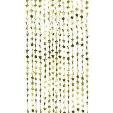 Photo Booth Hintergrund Vorhang Goldene Sterne | Backdrop Gold Party-Deko Foto