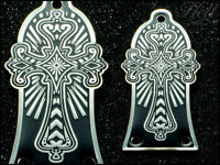 CROSS Brass Truss Rod Cover. Fits most Epiphone, Les Paul, SG + more