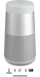 Bose SoundLink Revolve Portable Bluetooth Speaker 360 Degree Sound Lux Gray
