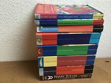 "Rowling, J K : "" Harry Potter"" series   book set paperback x 8"