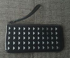Black Patent Leather Studded Marc Jacobs clutch bag