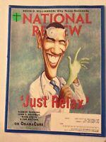 National Review Magazine Barack Obama Care July 20, 2009 060619nonrh