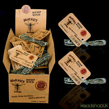 Hornet Hemp Wick Authentic Unrefined Purest Natural Beeswax Hempwick fibers