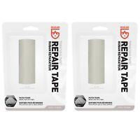 "Gear Aid Tenacious Tape Gray Ripstop 3""x20"" Strong Flexible Adhesive (2-Pack)"