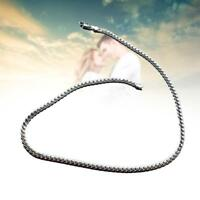 "Hot 5mm 925 Solid Sterling Silver Necklace Chain 20"" inch Fashion Men Women GJ"