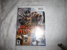 Pre Owned Wii Cabelas Big Game Hunter 2010 Game
