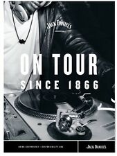 """Jack Daniels Poster 18 By 26 """"on Tour"""""""