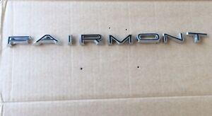 Ford FAIRMONT Boot Lid Trunk  Fits Xr Sedan 8 Letters Badge Emblem
