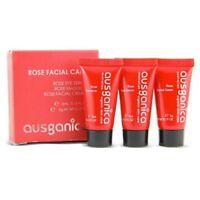 Ausganica - Rose Facial Care Set 3x5mL - Bio Gesichtspflege-Set  Augenpflege