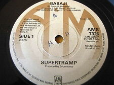 "SUPERTRAMP - BABAJI   7"" VINYL"