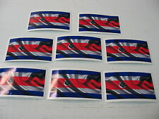 8 COSTA RICAN FLAG Sticker Decal LOT 4 boat car Window Truck suv Wholesale RICA
