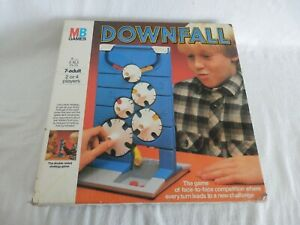Vintage Downfall Game MB Games 1985 Square Box -  Complete VGC
