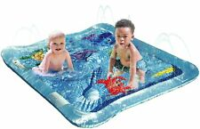 Kleeger Baby Wading Kiddie Pool: Outdoor Squirt & Splash Water Fun For Toddle.