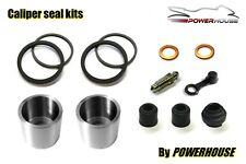 Honda VFR750 rear brake caliper piston seal rebuild kit RC24 FG FH 1986 1987