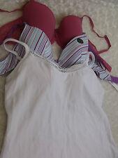 32D Bra Bundle x3 underwired bras inc. STRAPPY TOP by BRAVISSIMO  lingerie (238)