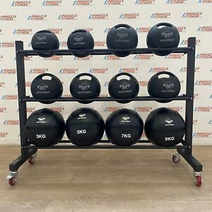 Med Ball Storage Rack on Wheels by Blitz Fitness