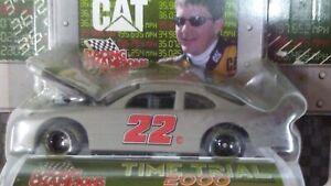 Racing Champions NASCAR 2000 Ward Burton #22 Grand Prix Time Trial Primer