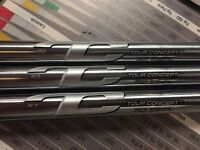 True Temper Tour Concept Satin Iron Shaft. Choose length. R300 S300 X100 Flex