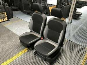 Skoda Fabia  2016 Front 2 Tone Cloth Seats Pair