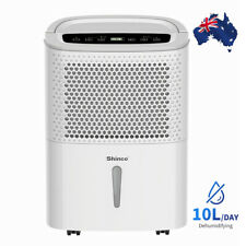 Shinco 10l Household Dehumidifier Rated for Medium Rooms and Basements Bathroom