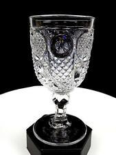 """HORN OF PLENTY BOSTON SANDWICH, MCKEE FLINT GLASS 6 1/4"""" WATER GOBLET 1830-1860"""