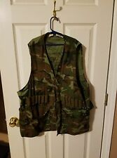 army camo bdu mens size xl 46-48 dove hunting vest