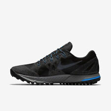 NIKE AIR ZOOM WILDHORSE 3 GTX BLACK/GREY/BLUE MEN SIZE 8 NEW 805569 001