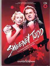Sweeney Todd, Bryn Terfel,Emma Thompson,The Coliseum,London 2015 programme £9.99
