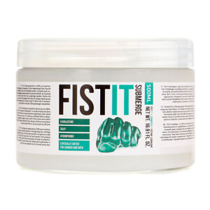 Fist it Lubricant Anal Sex Toy Gel Lube Numb Relax Cool Thick Glide Silicone Bum
