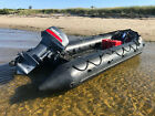 Zodiac FC470 Inflatable Military Navy Boat Combat Rubber Raiding Craft