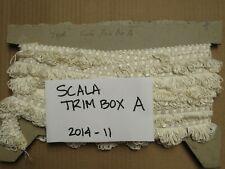 7.9Y White loop fringe SCALAMANDRE DESIGNER TRIM BOX A