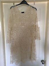 Ladies Crochet Dress Size large (16-18)