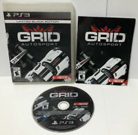 GRID Autosport - Limited Black Edition ! PS3 complete w/Manual PlayStation 3 CIB