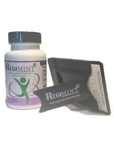 Peppermint Oil Plus Caraway Capsules For IBS: Includes Regimint Accessary