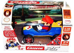 Nintendo Mario Romote Control Racer Car Carrera RC Includes Batteries New