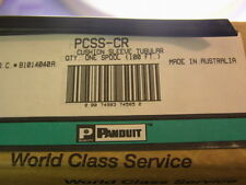 15 Ft Panduit PCSS-CR Black Tube Sleeving For SS Ties