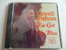 "LOWELL FULSON - ""I'VE GOT THE BLUES"", 1997 JEWEL, BRAND NEW, FACTORY SEALED!!!"
