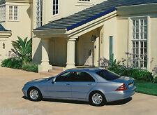 Mercedes S-Klasse W 220 Pressefoto 1998 23,8 x 17,8 cm Nr. A 98 F 4389 Autofoto