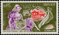 """MONACO STAMP TIMBRE N° 1152 """" CHARLES PERRAULT , CENDRILLON """" NEUF xx LUXE"""