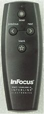 InFocus/Interlink 3524A-VP41XX03 Remote ++FREE SHIP++