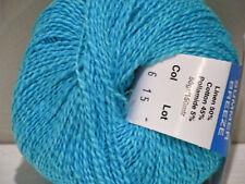 Tedman and Kvist Summer Breeze Hawaiian Ocean linen/cotton Knit Crochet Weave