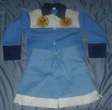 Walt Disney Special Deputy Mouseketeer Mickey Mouse Club Girl'S Outfit Dress