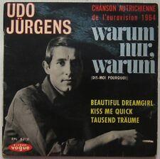 Udo Jürgens 45 Tours Eurovision 1964