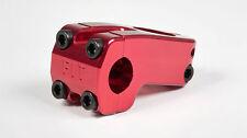 "NEW Fit BMX BENNY STEM Front Load RED NECK 46mm 1-1/8"" Threadless 9.9oz S&M"